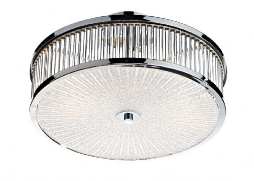 Aramis 3-light Polished Chrome Flush Ceiling Light ARA5250